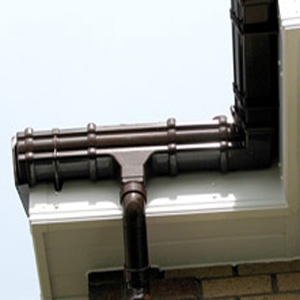 Roofline guttering and downpipes