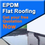 EPDM flat roof the most reliable flat roofing system available