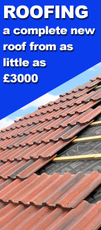 Need a new roof in may not cost as much as you think. A new roof from £3000