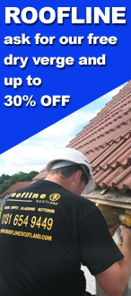 Order your Roofline installation now and receive free dry verge and up to 30% off