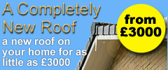 A complete new roof from as little as £3000