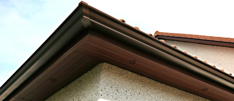 Roofline Natural Wood Finishes